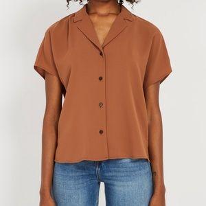 NWT Frank and oak short sleeve blouse